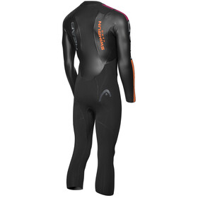 Head Swimrun Aero 4.2.1 Märkäpuku Miehet, black/orange